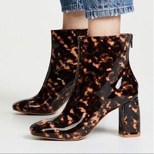 Jaggar Gloss Boot Tortoise